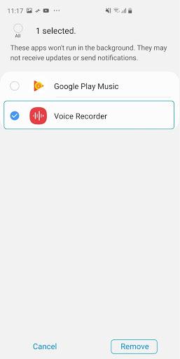 Samsung Voice Recorder screenshot 6