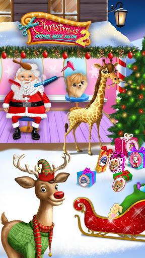 Christmas Animal Hair Salon 2 2 تصوير الشاشة