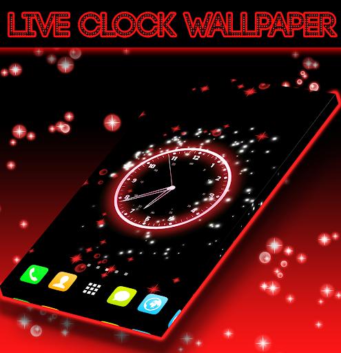 Live Clock Wallpaper screenshot 3