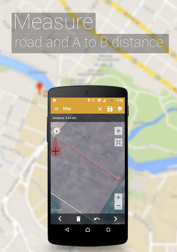 قياس منطقه الحقول 5 تصوير الشاشة