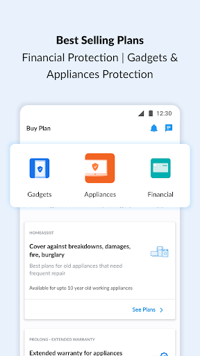OneAssist- Protect Mobile, Bank Cards & Appliances screenshot 2