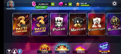 Teen Patti Royal - 3 Patti Online & Offline Game 1 تصوير الشاشة