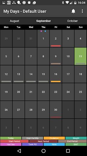 My Days - Ovulation Calendar & Period Tracker ™ 6 تصوير الشاشة