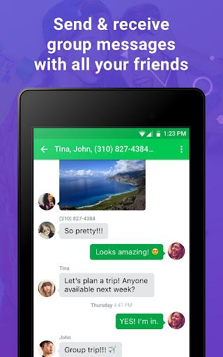 Nextplus Free SMS Text   Calls screenshot 11