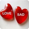 Love Sad Images Quotes Message icon