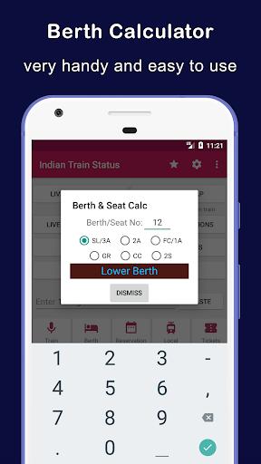 Indian Railway Train Status : Where is my Train 9 تصوير الشاشة