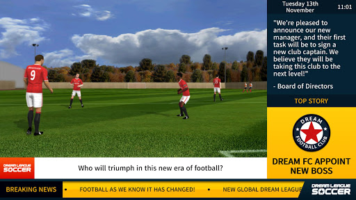Dream League Soccer 3 تصوير الشاشة