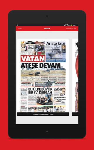 Vatan Gazete 5 تصوير الشاشة