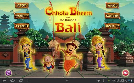 Bali Movie App - Chhota Bheem 1 تصوير الشاشة