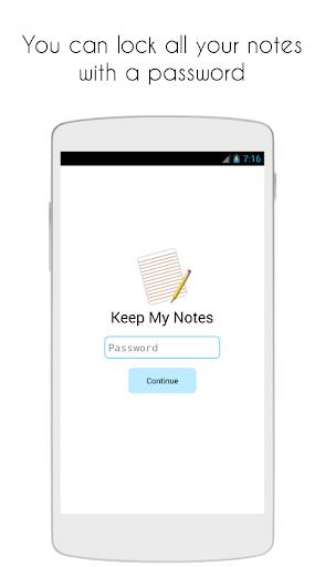 Keep My Notes - Notepad, Memo and Checklist screenshot 4