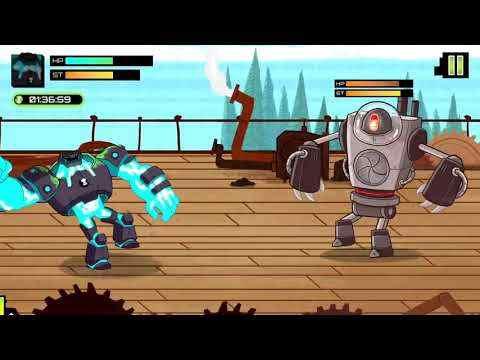 Ben 10 - Omnitrix Hero: Aliens vs Robots screenshot 1
