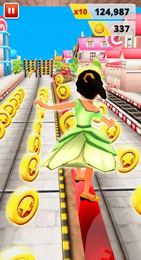 Princess Run Game 3 تصوير الشاشة