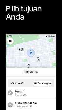Uber screenshot 2