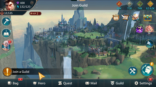 Mobile Royale MMORPG - Build a Strategy for Battle screenshot 5