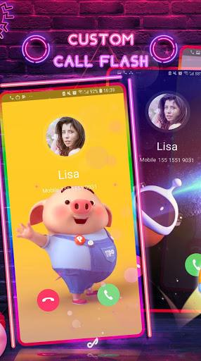Neon Messenger for SMS - Emojis, original stickers screenshot 3