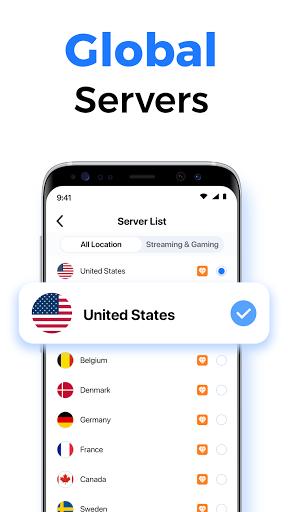 SkyVPN-Best Free VPN Proxy for Secure WiFi Hotspot screenshot 2