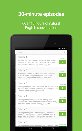 LearnEnglish Podcasts - Free English listening 7 تصوير الشاشة