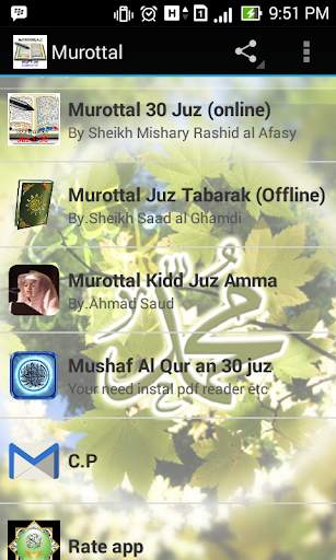 Murottal full 30 juz screenshot 1