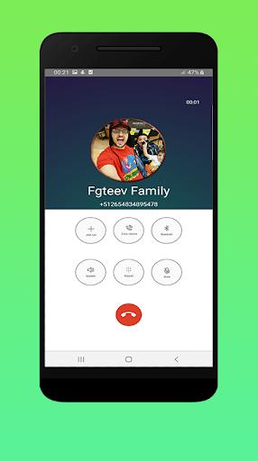 Video Call Fgteev Family In Real Life 2020 1 تصوير الشاشة