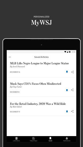 The Wall Street Journal: Business & Market News screenshot 8