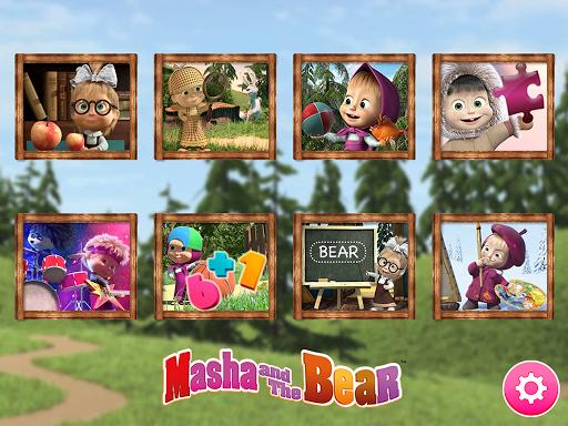 Masha and the Bear. Educational Games screenshot 1