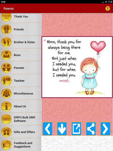 Thank You Greeting Card Images screenshot 15