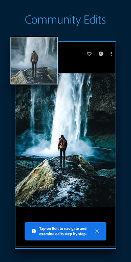 Adobe Lightroom - Photo Editor & Pro Camera 5 تصوير الشاشة