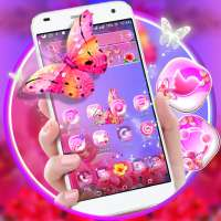 Flower Butterfly Launcher Theme on APKTom