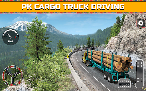 PK Cargo Truck Transport Game 2018 screenshot 1