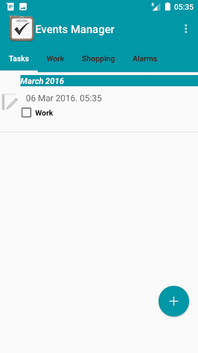 Reminder App with alarm 1 تصوير الشاشة