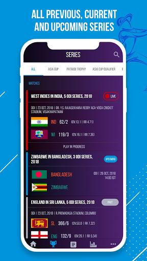 CricketNext – Live Score & News 3 تصوير الشاشة