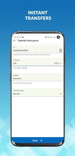 WebMoney Keeper screenshot 3