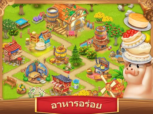 หมู่บ้านฟาร์ม-Village and Farm screenshot 10