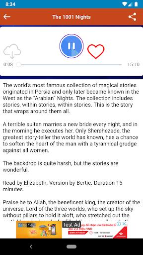 Audio Stories (English Books) screenshot 5