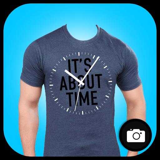 Man T-shirt Photo Maker icon