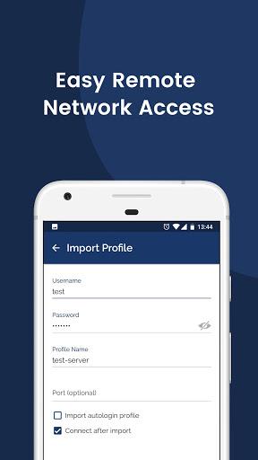 OpenVPN Connect – Fast & Safe SSL VPN Client screenshot 3