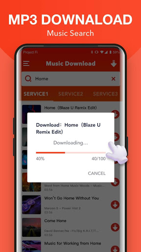تحميل الموسيقى الحرة   تنزيل الموسيقى MP3   أغاني 2 تصوير الشاشة