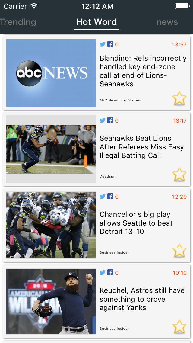 Get Trend News - Read world breaking hot news screenshot 2