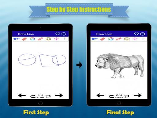 كيفية رسم الحيوانات واقعية مع قلم رصاص - مجانا 6 تصوير الشاشة
