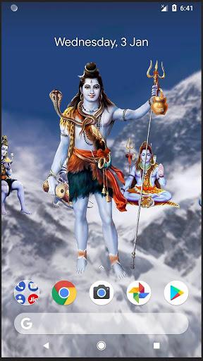 4D Shiva Live Wallpaper 8 تصوير الشاشة