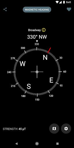 Цифровой компас скриншот 2
