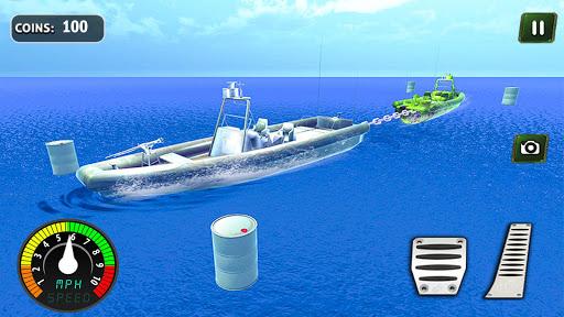 Armed Vehicle 4x4 Tug War: Racing Simulator screenshot 2