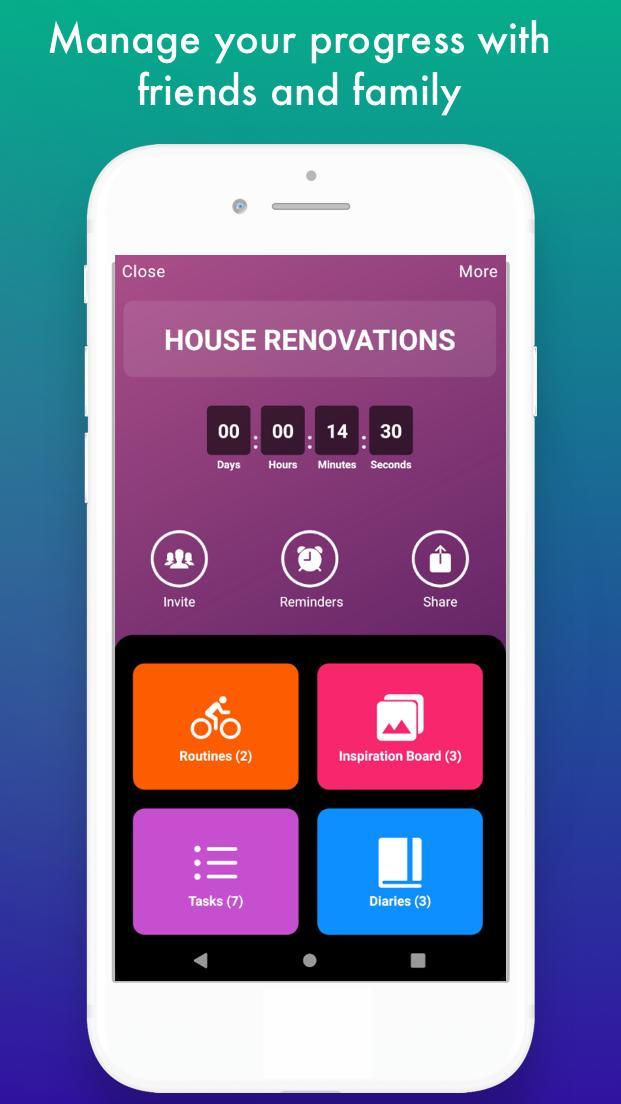 Vervo - Goal tracker & habit tracker app screenshot 5