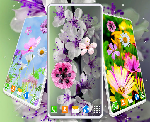 Spring Flowers Live Wallpaper 🌻 Summer Wallpapers скриншот 4