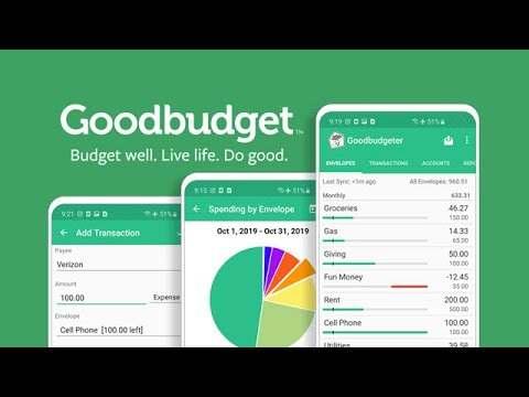 Goodbudget: Budget & Finance screenshot 1