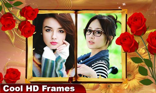 Photobook Photo Editor – Dual Frames Photo Collage screenshot 1