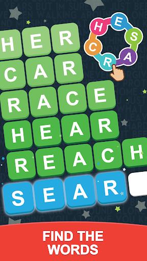 Word Search Sea: Unscramble words स्क्रीनशॉट 1