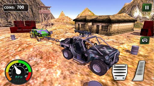 Armed Vehicle 4x4 Tug War: Racing Simulator screenshot 5