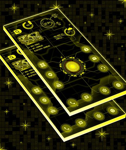 Circuit Launcher 2021 App lock, Hitech Wallpaper 10 تصوير الشاشة