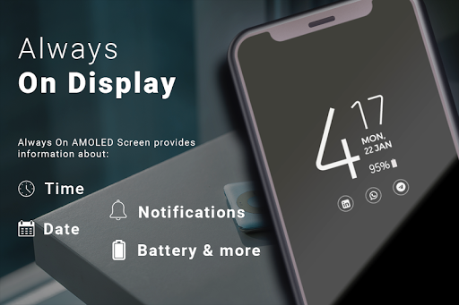 Always on Display - AMOLED Wallpapers screenshot 2